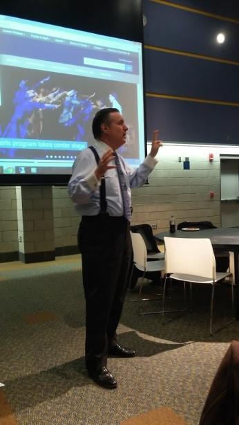 University President Dr. John Clark