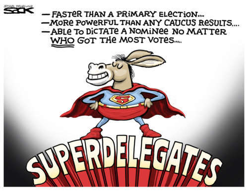 Superdelegates Role In The Election The Echo Of Western - Delegates and superdelegates