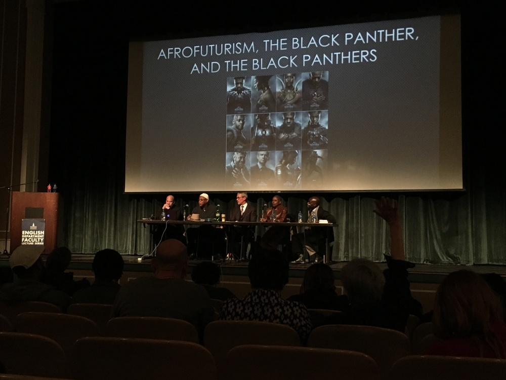 Black Panther Panel photo